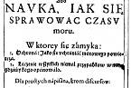 """Kniha Sebastiana Petrycy publikovaná v Krakově v roce 1613 o prevenci proti """"špatnému ovzduší""""."""