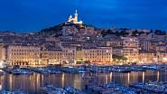 Noční Marseille