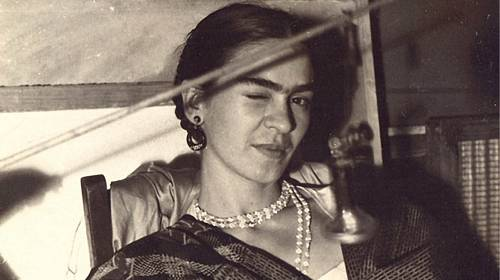 Známá mexická Frida Kahlo.