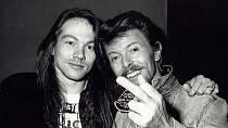 Axl Rose a David Bowie