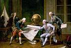 La Pérouse přebírá instrukce od francouzského krále
