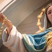 Panna Marie je v křesťanství symbolem čistoty.
