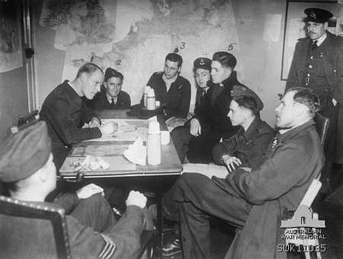 Porada příslušníků britského letectva