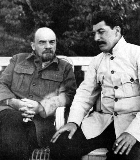 Lenin Stalina na konci života kritizoval.