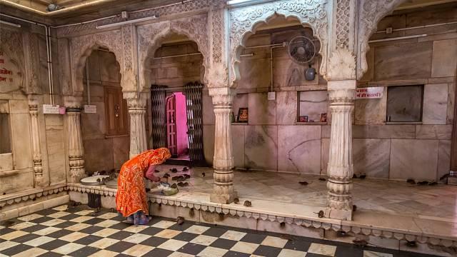 Vítejte v Karní Matá, krysím chrámu v pouštním městě Dešnoku