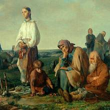 Drobné rolníky trápila bída a hlad.