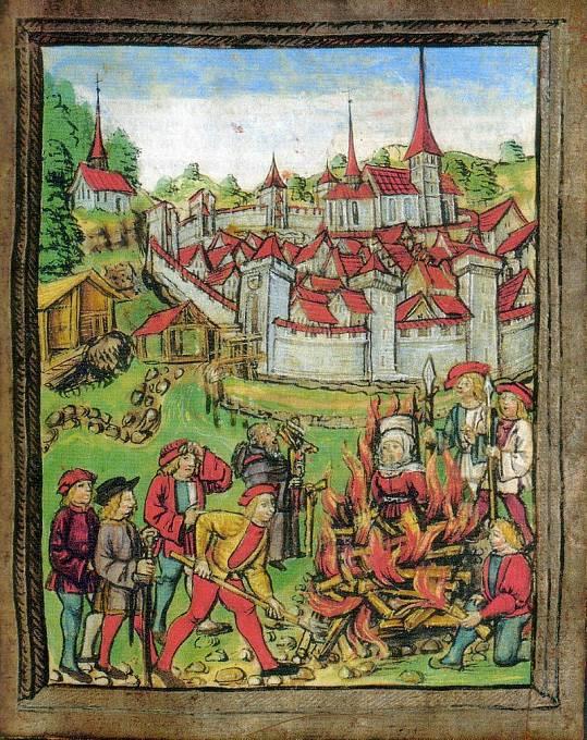 Čarodějnické procesy probíhaly od vrcholného středověku do dob osvícenství..