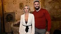 Barbora Mottlová s partnerem