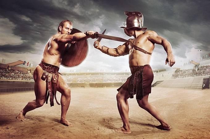 Krvavé hry Římané zbožňovali.