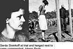 Gerda Steinhoff, nacistická dozorkyně z koncentračního tábora Stutthof SK-III.