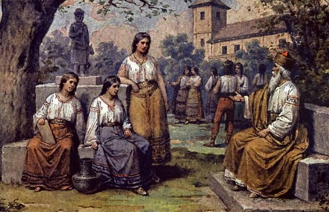 Krok a jeho dcery