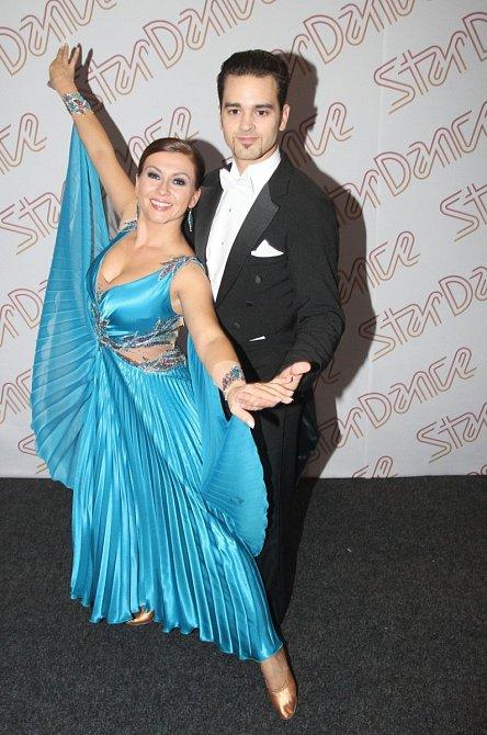 Dana Morávková se zúčastnila také soutěže Stardance