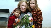 Blanka Bohdanovás vnučkami