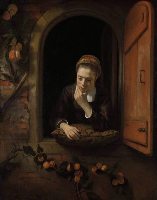 Dívka v 17. století