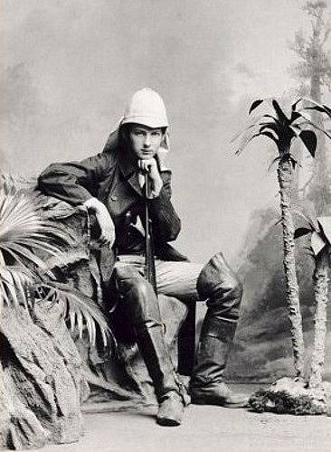Cestovatel Alberto Vojtěch Frič v roce 1901