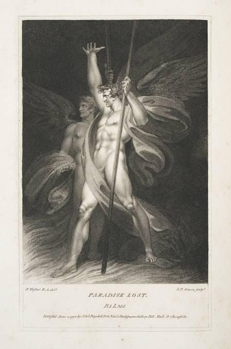 Satan a Belzebub. Belzebub je označení démona, jméno, které se někdy mylně užívá jako ekvivalent Lucifera či Satana.