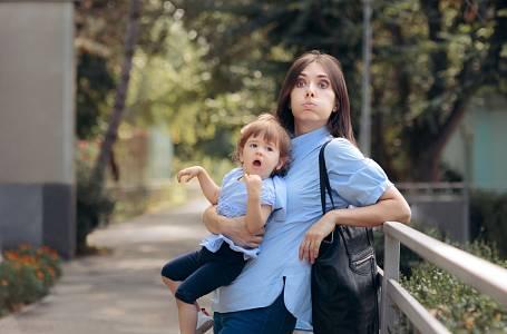 Kamarádčino dítě je naprosto nezvladatelné, nedá se s nimi nikam chodit.
