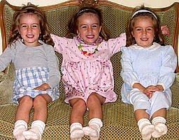 Tři děti dají zabrat