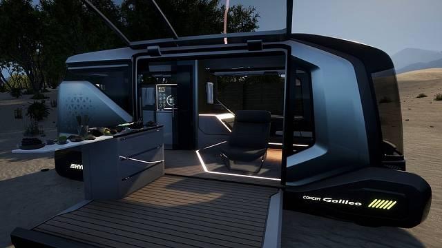 Karavan budoucnosti se bude řídit sám a navrhne vám ideální výlet