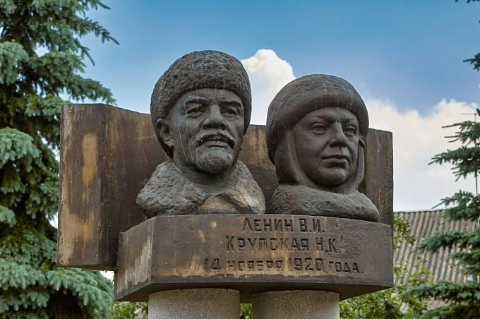 Lenin s Krupskou tvořili nerozdělitelný pár.