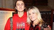 Leona Machálková se synem