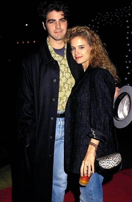 Kelly Preston a George Clooney
