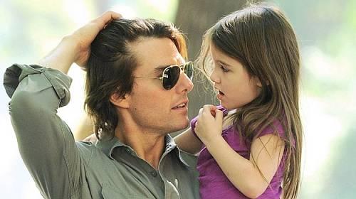 Tom Cruise a Suri Cruise