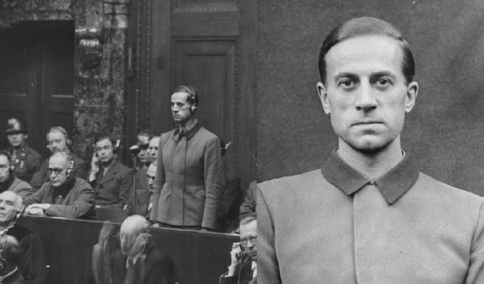 Dr. Karl Brandt. Osobní lékař Adolfa Hitlera. Po válce byl za své zločiny odsouzen americkým vojenským tribunálem k trestu smrti oběšením.