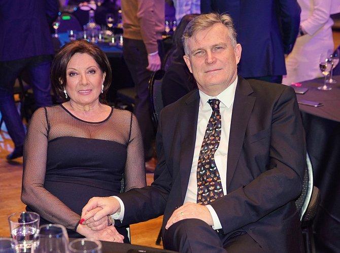 Marie Rottrová s partnerem
