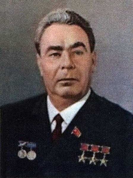 Leonid Brežněv, oficiální portrét