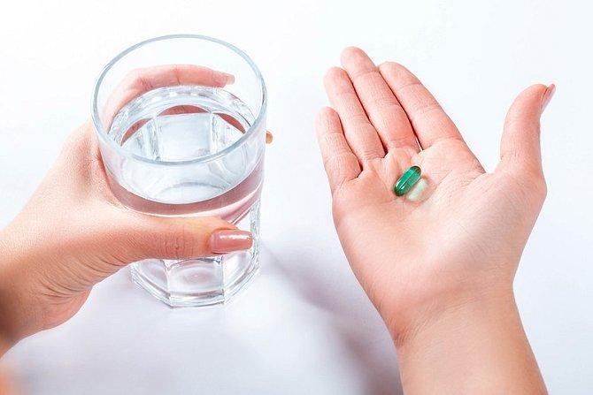Obě bereme léky na uklidnění