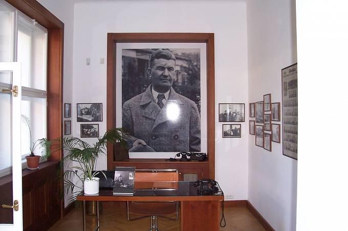 Kancelář Tomáše Bati ve Zlíně.