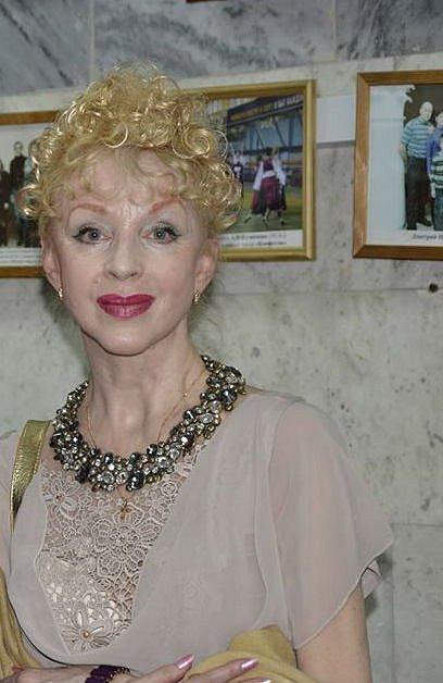 Natalja Sedychová, představitelka Nastěnky