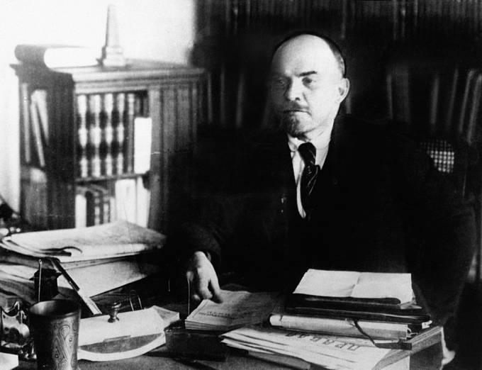 Lenin na fotografii z let 1920-22