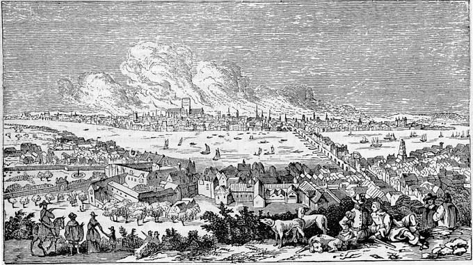 Mor byl definitivně zlikvidován až Velkým požárem roku 1666.