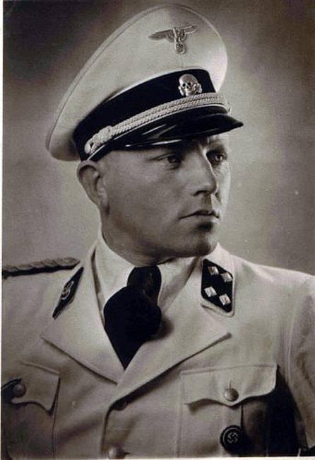 """SS-Sturmbannführer"""" Johann Schwarzhuber"""