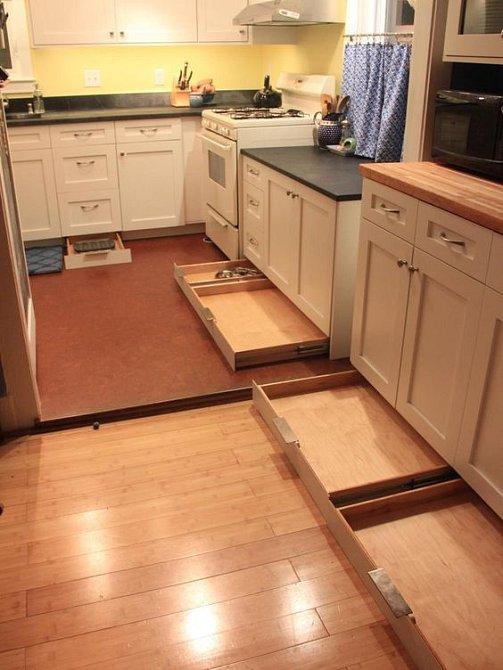 Při zařizování kuchyně vsaďte na praktičnost a chytrý vychytávky.