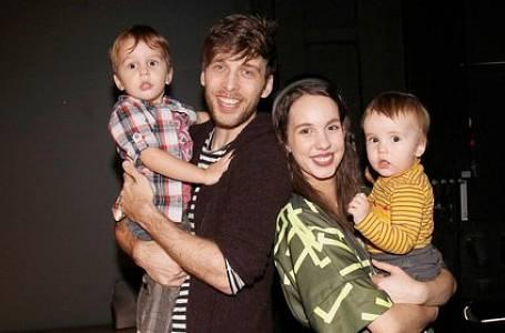 Míša a Roman Tomešovi se syny