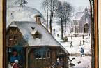 V maličkých dřevěných domcích se tísnily početné rodiny.