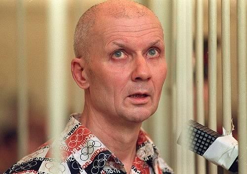 Andrej Čikatilo byl odsouzen k trestu smrti