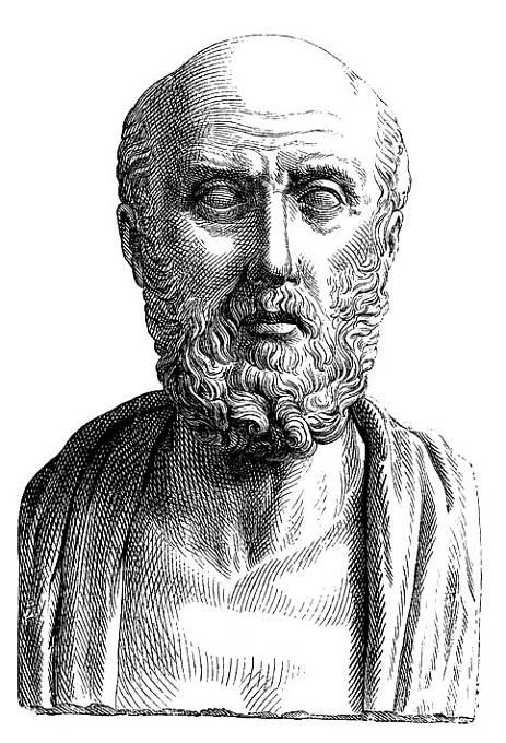 """Nejslavnější lékař starověku a """"otec medicíny"""", zakladatel racionálního lékařství Hippokratés popsal přerušované malarické horečky."""