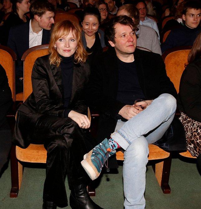Aňa Geislerová s manželem