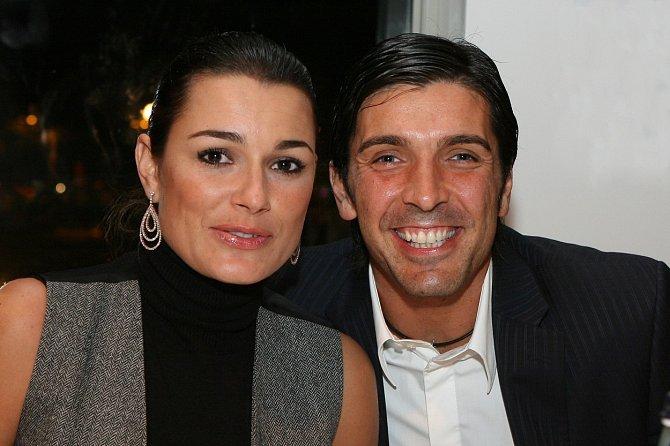Alena Šeredová s bývalým manželem