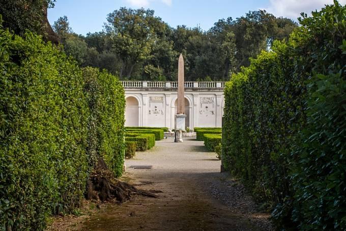 Zahrady Lucullovy v Římě