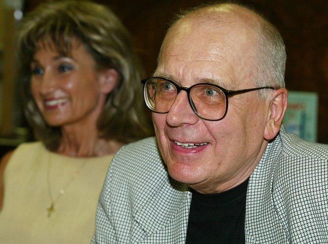 Miloslav Šimek se Zuzanou Bubílkovou