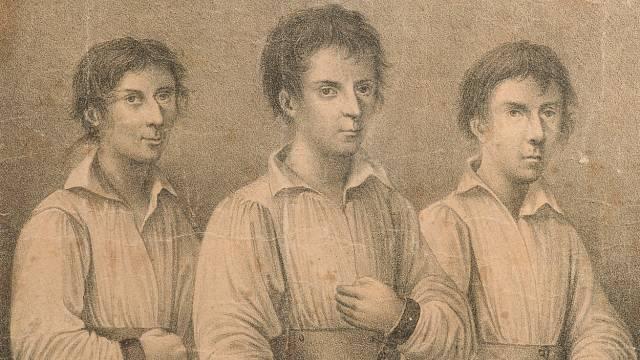 Jan Jiří Grasel (uprostřed) se svými komplici.