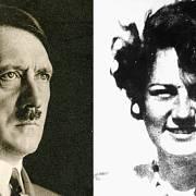 Adolf Hitler a jeho neteř Geli Raubalová