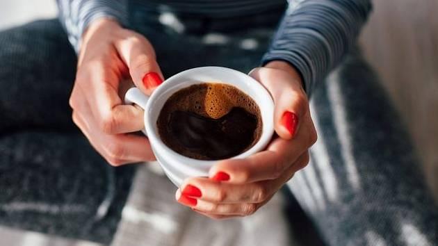 Káva a bylinky