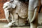 Pivovar Carlsberg v Kodani sází už od předválečné doby na indické symboly štěstí.