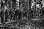 11. května 1942, polští vězni z Buchenwaldu krátce před popravou.